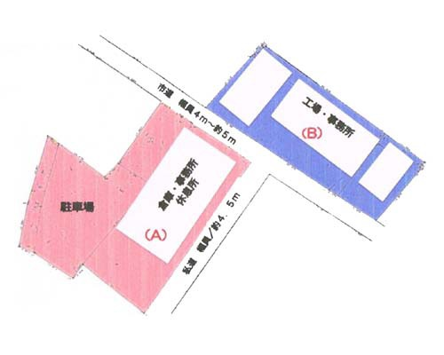 白井市 北総鉄道西白井駅の売倉庫画像(1)