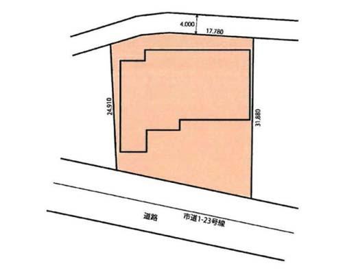 厚木市 小田急小田原線本厚木駅の売倉庫画像(1)