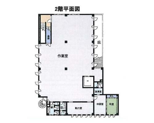 厚木市 小田急小田原線本厚木駅の売倉庫画像(3)