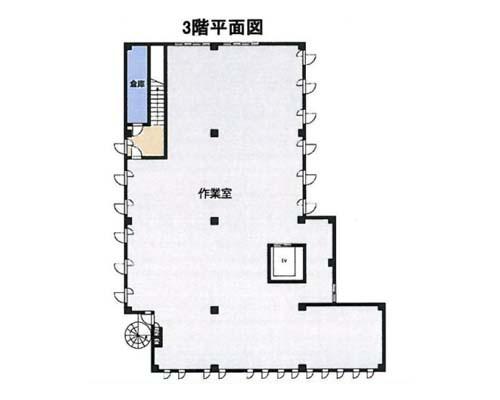 厚木市 小田急小田原線本厚木駅の売倉庫画像(4)