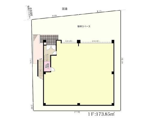 厚木市 小田急小田原線本厚木駅の売工場・売倉庫画像(1)