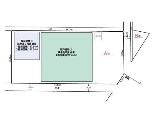所沢市 JR武蔵野線新座駅の売倉庫画像(1)
