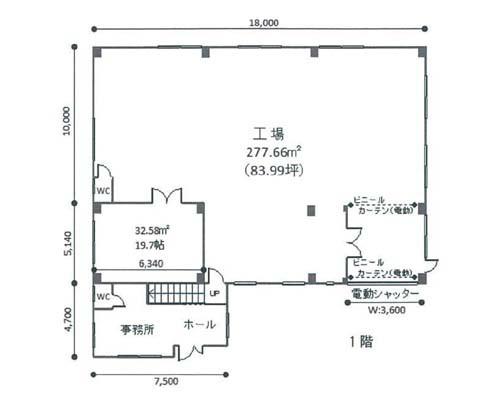 熊谷市 JR高崎線熊谷駅の売工場画像(1)