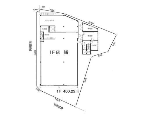 鶴ヶ島市 東武東上線坂戸駅の売倉庫画像(1)