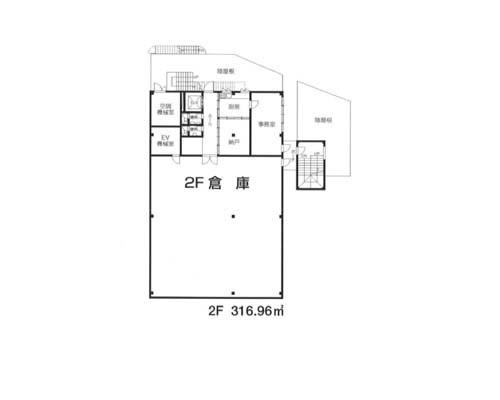 鶴ヶ島市 東武東上線坂戸駅の売倉庫画像(2)