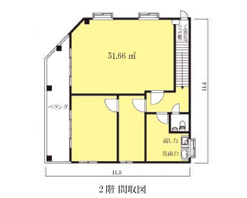 蕨市 JR京浜東北線蕨駅の売倉庫画像(2)