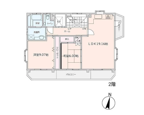 越谷市 東武伊勢崎線大袋駅の売事務所画像(2)