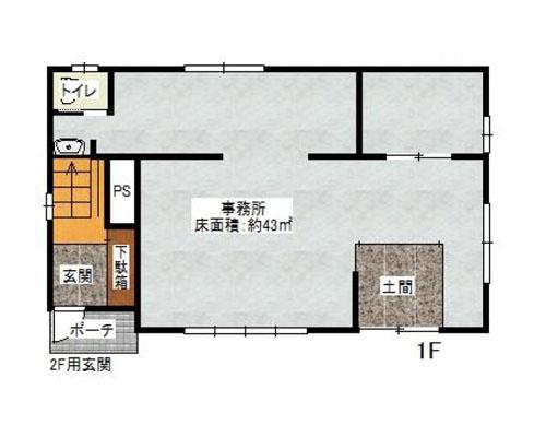 草加市 東武伊勢崎線新田駅の売店舗・売事務所画像(1)