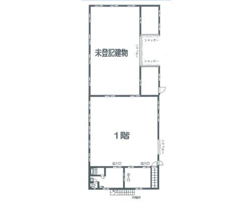越谷市 東武伊勢崎線武里駅の売倉庫画像(1)