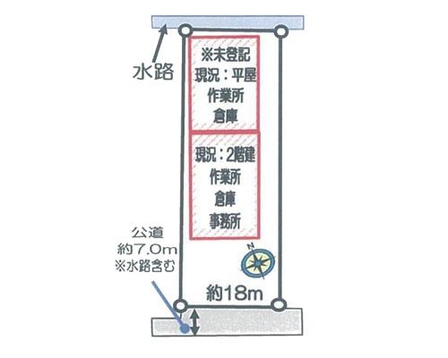 越谷市 東武伊勢崎線武里駅の売倉庫画像(3)