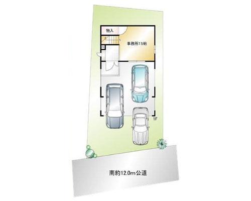 入間市 西武池袋線武蔵藤沢駅の売店舗・売事務所画像(1)