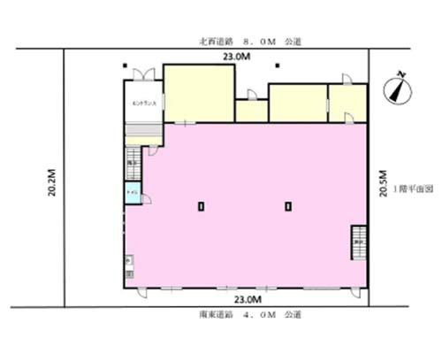 所沢市 JR武蔵野線東所沢駅の売工場・売倉庫画像(1)