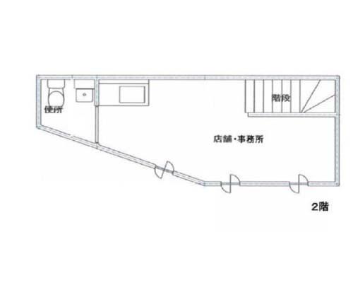 中野区 JR中央線中野駅の売店舗・売事務所画像(2)