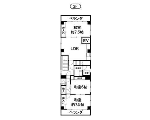 江東区 都営新宿線西大島駅の売工場・売倉庫画像(3)