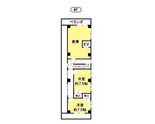 江東区 都営新宿線西大島駅の売工場・売倉庫画像(4)