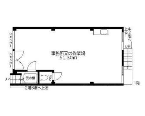 足立区 東武スカイツリーライン梅島駅の売店舗・売事務所画像(1)
