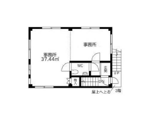 足立区 東武スカイツリーライン梅島駅の売店舗・売事務所画像(4)