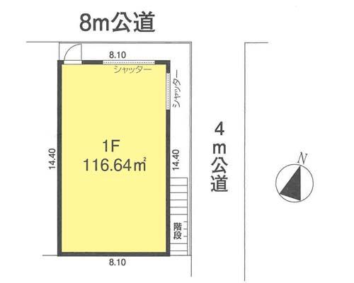 板橋区 JR埼京線浮間舟渡駅の売工場・売倉庫画像(1)