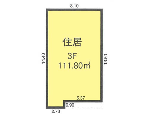 板橋区 JR埼京線浮間舟渡駅の売工場・売倉庫画像(3)