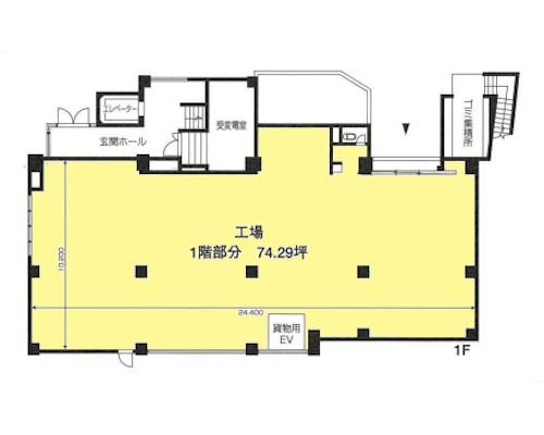 板橋区 都営三田線新板橋駅の売工場・売倉庫画像(1)