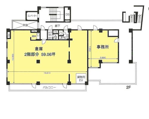 板橋区 都営三田線新板橋駅の売工場・売倉庫画像(2)