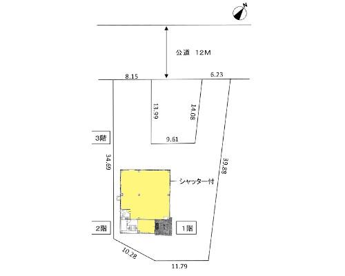 八王子市 JR八高線北八王子駅の売ビル画像(1)