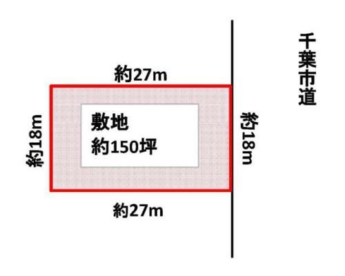 千葉市稲毛区 総武本線四街道駅の売事業用地画像(1)