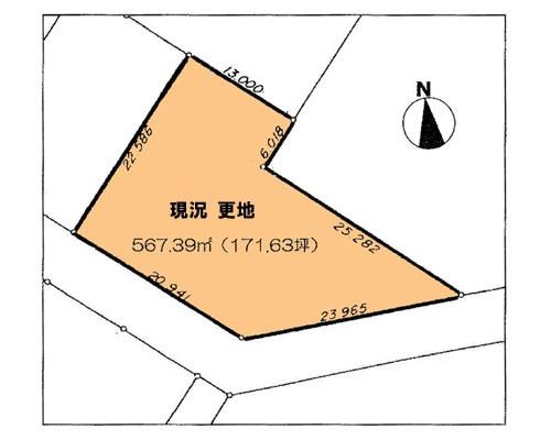 船橋市 北総線小室駅の売事業用地画像(1)