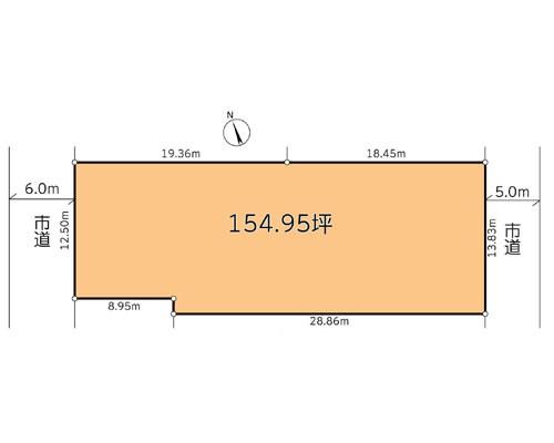 松戸市 JR常磐線馬橋駅の売事業用地画像(1)