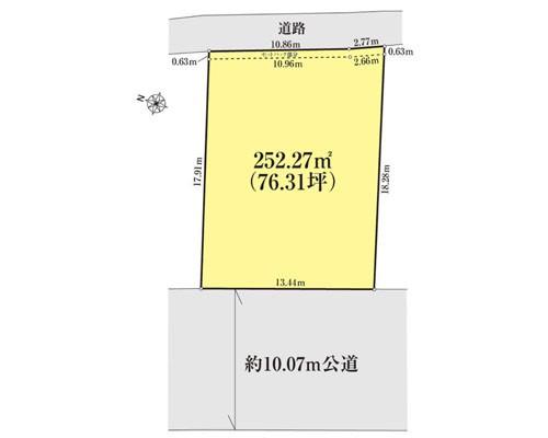 千葉市中央区 京成千原線千葉寺駅の売事業用地画像(1)