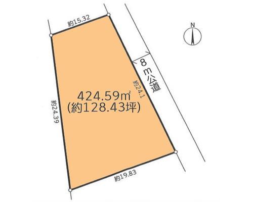 松戸市 新京成電鉄新京成線五香駅の売事業用地画像(1)