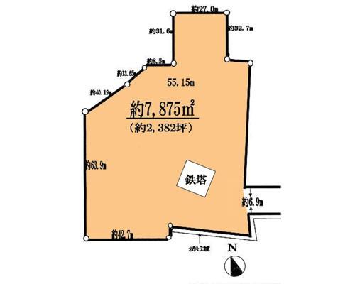 八千代市 京成本線勝田台駅の売事業用地画像(1)