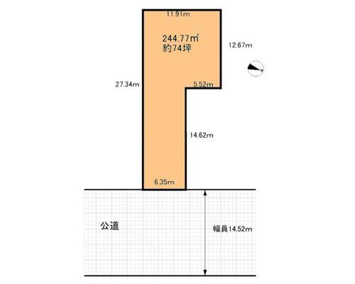 松戸市 新京成電鉄くぬぎ山駅の売事業用地画像(1)