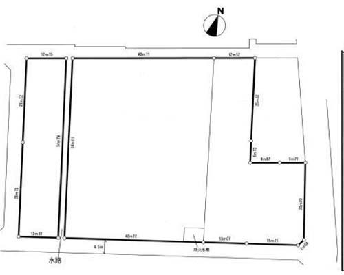 足柄上郡中井町 JR東海道線二宮駅の売事業用地画像(1)