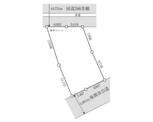 座間市 相鉄本線さがみ野駅の売事業用地画像(1)