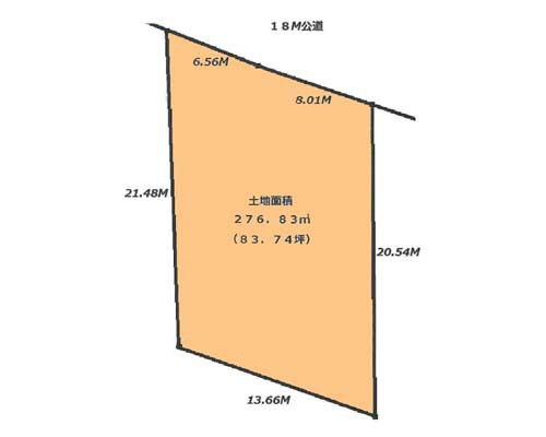相模原市中央区 JR相模線上溝駅の売事業用地画像(1)