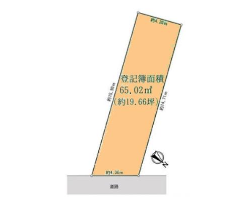 横浜市神奈川区 JR横浜線大口駅の売事業用地画像(1)