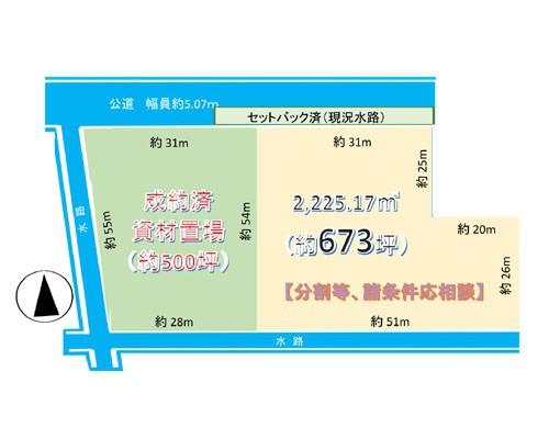 吉川市 JR武蔵野線吉川美南駅の売事業用地画像(1)