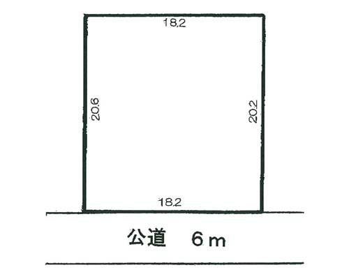 春日部市 東武伊勢崎線武里駅の売事業用地画像(1)