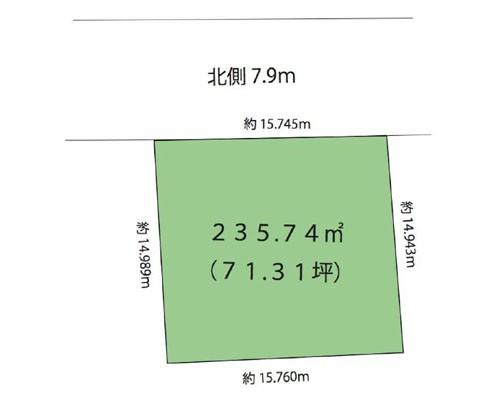坂戸市 東武東上線若葉駅の売事業用地画像(1)