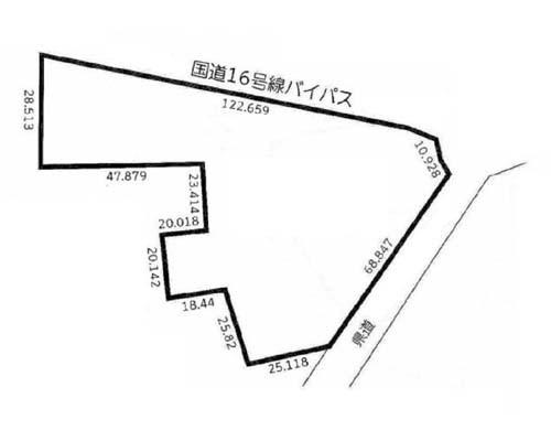 春日部市 東武野田線藤の牛島駅の売事業用地画像(1)