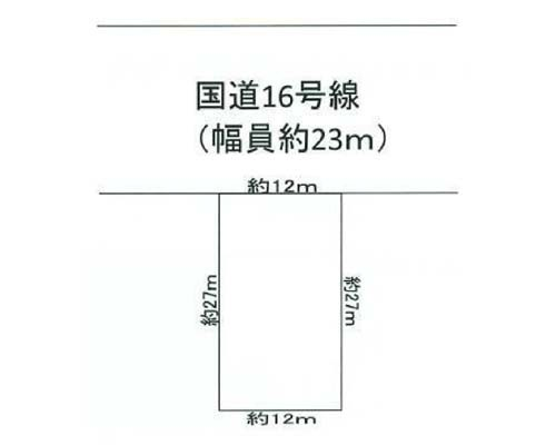 入間市 西武新宿線入間市駅の売事業用地画像(1)