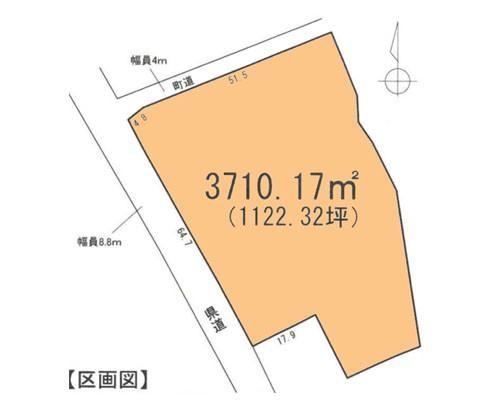 入間郡越生町 JR八高線越生駅の売事業用地画像(1)