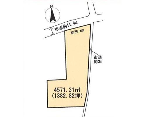 東松山市 東武東上線つきのわ駅の売事業用地画像(1)