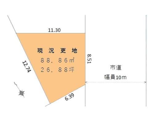 所沢市 西武池袋線新所沢駅の売事業用地画像(1)