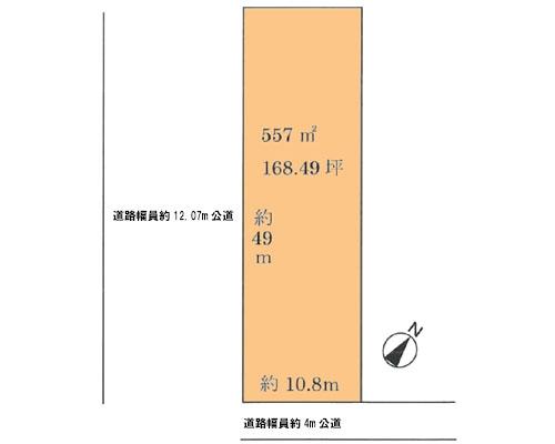 吉川市 JR武蔵野線吉川駅の売事業用地画像(1)