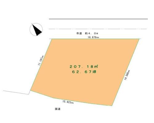 所沢市 西武池袋線武蔵藤沢駅の売事業用地画像(1)