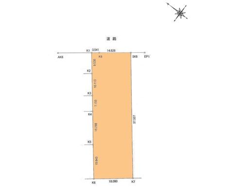 川口市 埼玉高速鉄道南鳩ヶ谷駅の売事業用地画像(1)