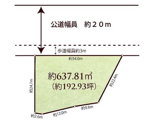 八王子市 JR中央線高尾駅の売事業用地画像(1)