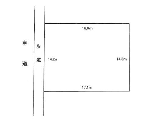 江東区 東西線門前仲町駅の売事業用地画像(1)
